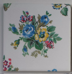 Ceramic Wall Tiles Made With Cath Kidston Highgate Rose